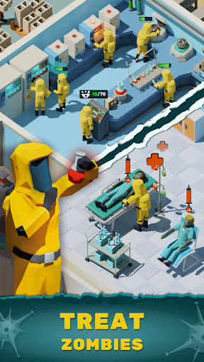 Zombie Hospital Tycoon: Idle Management Game 0.40 screenshots 1