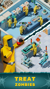Zombie Hospital Tycoon: Idle Management Game 0.40