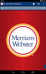 Dictionary - M-W Premium Screenshot