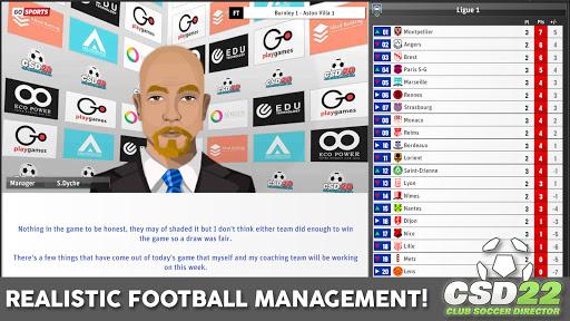 Club Soccer Director 2022  screenshots 9