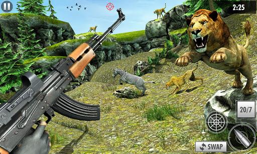 Wild Deer Hunt 2021: Animal Shooting Games apktram screenshots 2