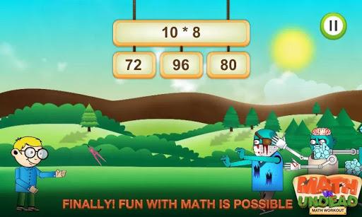 Math vs. Undead: Math Workout apkmr screenshots 5