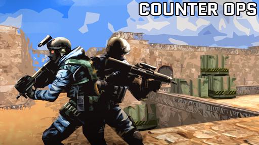 Counter Ops: Gun Strike Wars - FREE FPS modiapk screenshots 1