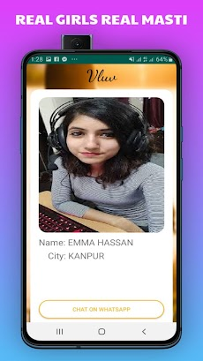 Vluv -Indian Girls Mobile Number For Whatsapp Chatのおすすめ画像4
