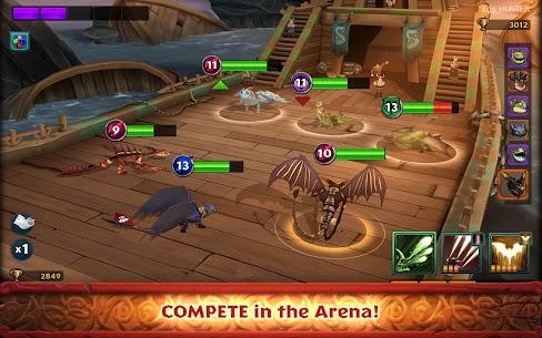 لعبة Dragons Rise of Berk مهكرة Mod 3