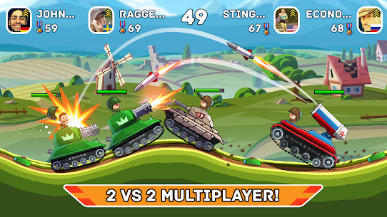 Hills of Steel APK (MOD, Unlimited Coins) for Android 1