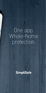SimpliSafe Home Security App Screenshot