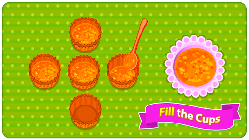 Baking Carrot Cupcakes - Coking Game screenshots 21