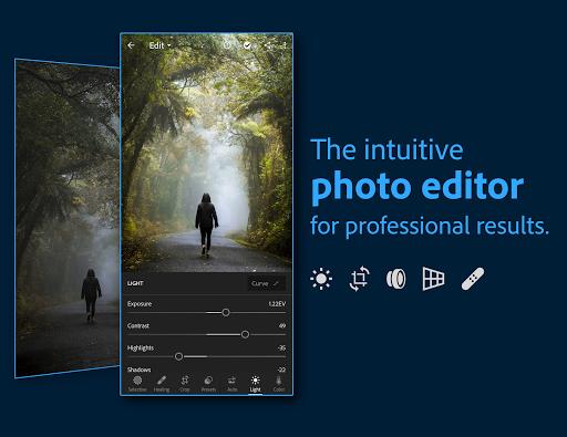Download APK: Adobe Lightroom – Photo Editor v6.3.0 [Premium] [Mod Extra]