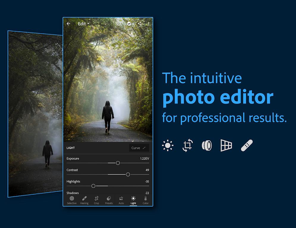 Adobe Lightroom - Photo Editor & Pro Camera  poster 0