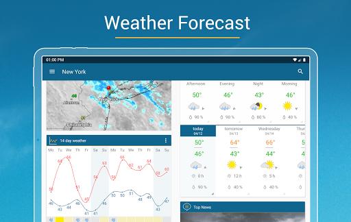 Weather & Radar USA - Storm alerts  Screenshots 15