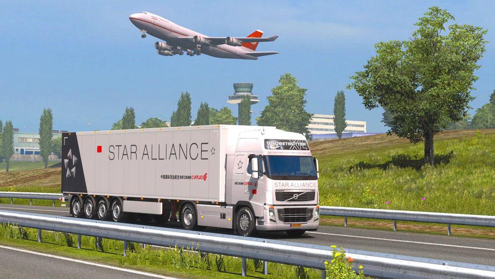 Screenshot 2 de Euro Cargo Truck Simulator 2020 : Driving Master para android