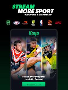 Kayo Sports - for Android TV screenshots 14
