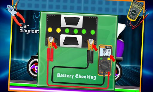 Electric Car Repairing - Auto Mechanic Workshop 1.2 screenshots 6
