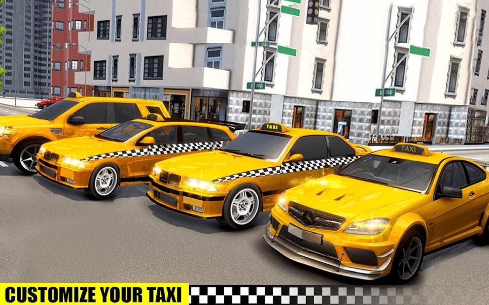 Captura 14 de simulador de aparcamiento de taxis 3D de varias para android