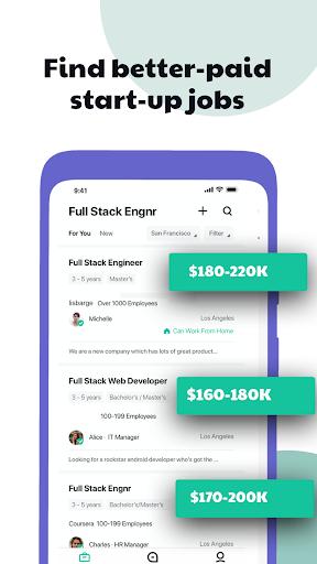 Hirect: Chat Based Job Search apktram screenshots 3