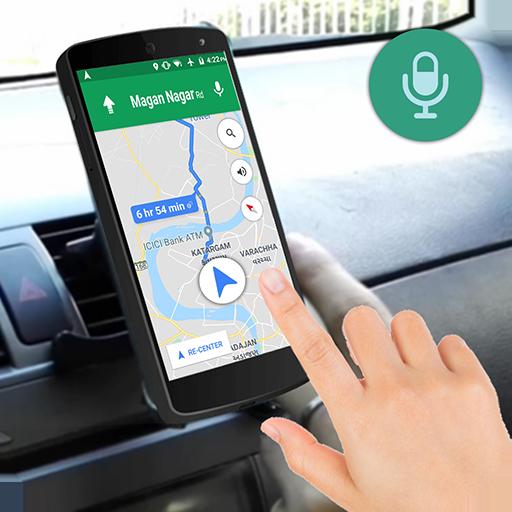 Direcciones de conducción GPS por voz