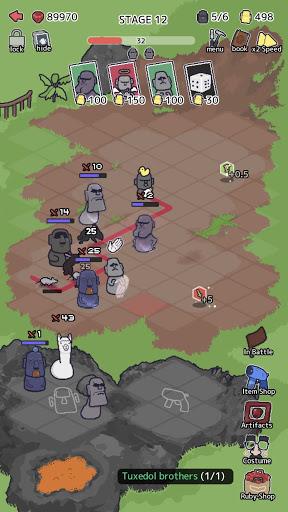 Random Moai Defense screenshots 2