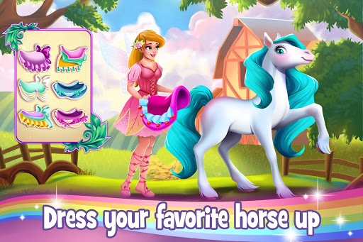 Download Tooth Fairy Horse - Caring Pony Beauty Adventure mod apk