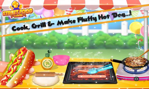 Street Food Pizza Maker - Burger Shop Cooking Game screenshots 7