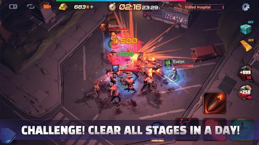 Code Triche Defense Monster Hunter: Idle Battle (Astuce) APK MOD screenshots 1