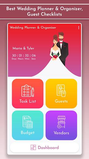 Wedding Planner & Organizer, Guest Checklists 1.2 Screenshots 2
