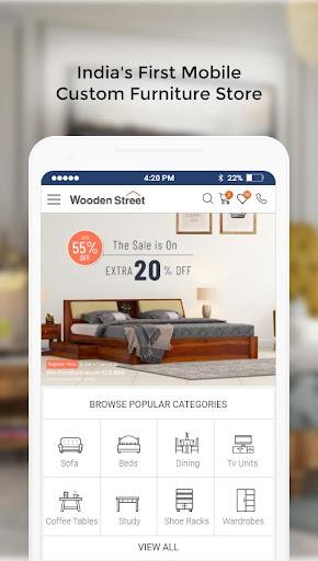 WoodenStreet: Furniture Online 6.002 screenshots 2
