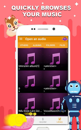 Voice changer - Music recorder with effects  Screenshots 5