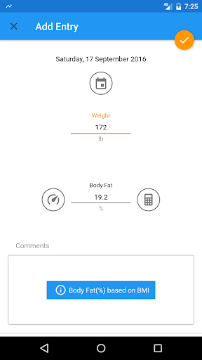 BMI and Weight Tracker 3.8.5 Screenshots 8