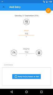 BMI and Weight Tracker Pro Apk (Mod/Lite) 8
