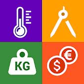 icono Convertidor de unidades : Herramientas, Moneda