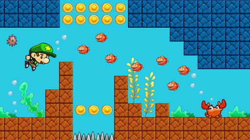 Super Bob's World: Jungle Adventure- Free Run Game 1.233 screenshots 4