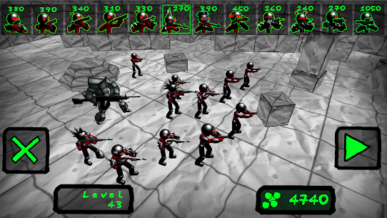 Battle Simulator: Stickman Zombie 3