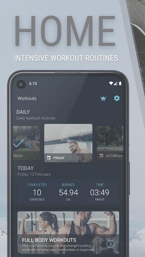Home Workout - Fitness, Bodybuilding & Weight Loss  screenshots 1