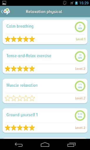 self-help anxiety management screenshot 3