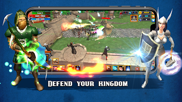 Grow Kingdom: Tower Defense Strategy & RPG Game
