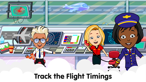 My Airport Town: Kids City Airplane Games for Free 1.6.1 Screenshots 3