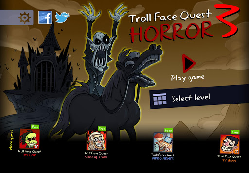 Troll Face Quest: Horror 3 apklade screenshots 1
