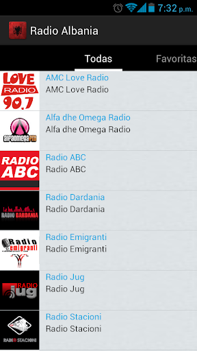 Albania Radio screenshots 2