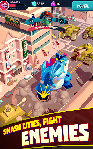 I Am Monster: Idle Destruction screenshots 8