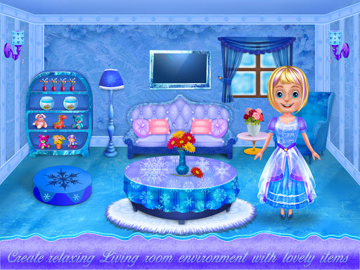 Ice Doll House Design: Decoration games 1.0.7 screenshots 5