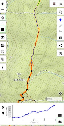 Israel Hiking Map  screenshots 1