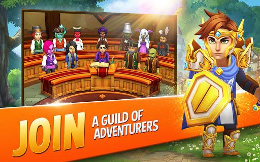 Shop Titans: Epic Idle Crafter, Build & Trade RPG apktram screenshots 5
