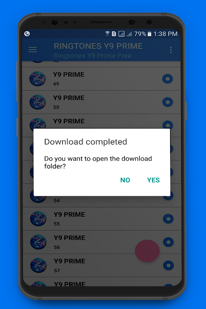 Screenshot 6 de Tonos De Y9 Prime Para Celular De LLamada para android