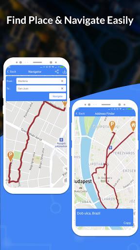 GPS, Maps, Navigate, Traffic & Area Calculating  Screenshots 1