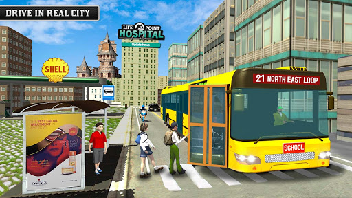 City School Bus Game 3D apklade screenshots 1