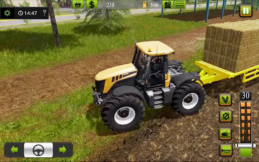 Supreme tractor farming - modern farm games 2021  screenshots 9