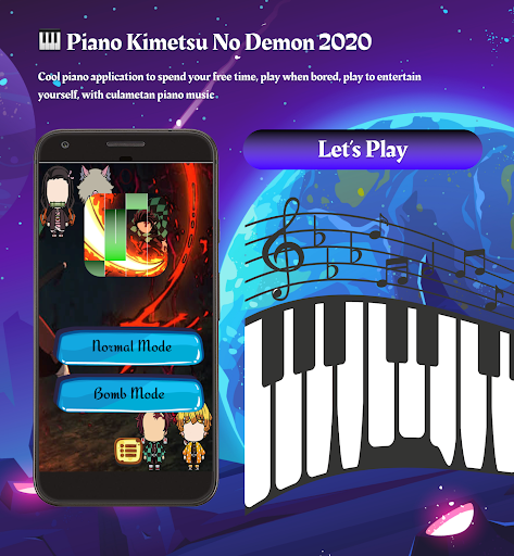 New Anime Games ud83cudfb9 Piano Kimetsu No Demon 2020 1.0.0 screenshots 6