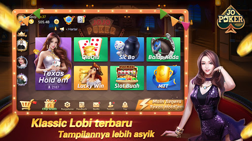JOJO Texas Domino QiuQiu Slots Free Game 1.4.9 screenshots 1