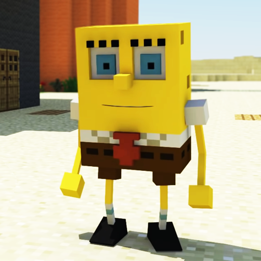 Bikini Bottom 3D Mod for MCPE